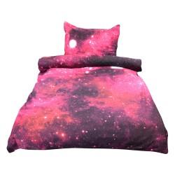 Povlečení Exklusiv, Vesmírná mlhovina s 3D efektem, bavlna, 2 dílné, 140x200 70x90
