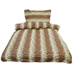 Povlečení Comfort+, Tygr, bavlna, 2 dílné, 140x200 70x90