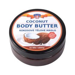 Kokosové tělové máslo - na tělo i obličej, 200ml