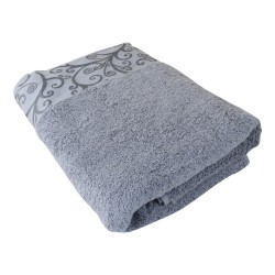 Osuška Venezia, bavlna, froté, 550g, šedá, 70x140cm