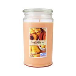 Vonná svíčka, Broskev a mango, 566g