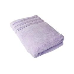Ručník Montána, bavlna, froté, 550g, světle fialová, 50x100cm
