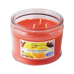 Vonná svíčka, Citrusový nektar, tříknotová, 326g