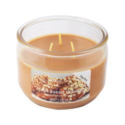 Vonná svíčka, Brusinky s mandarinkou, tříknotová, 326g