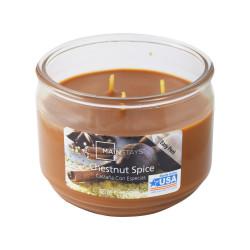 Vonná svíčka, Podzimní sklizeň, tříknotová, 326g