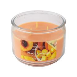 Vonná svíčka, Dýňový koláč, tříknotová, 326g