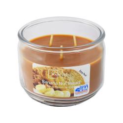 Vonná svíčka, Broskev a mango, tříknotová, 326g