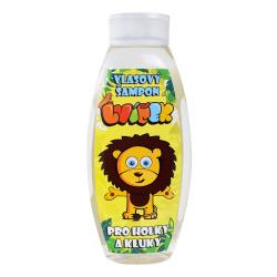 Dětský sprchový gel Lvíček, banán, 500ml
