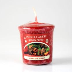 Votivní svíčka, Savour the Season, 49g