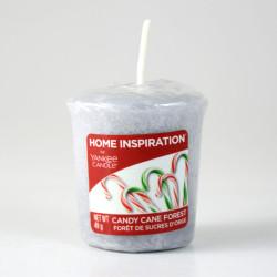 Votivní svíčka, Candy Cane Forest 49g