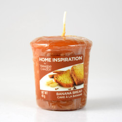 Votivní svíčka, Banana Bread, 49g