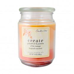 Vonná svíčka Meditační, Kreativita, třívrstvá, 538g