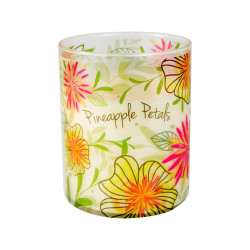 Vonná svíčka, Bloom, Květy ananasu, 368g