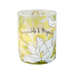 Vonná svíčka, Bloom, Zimolez a magnolie, 453g