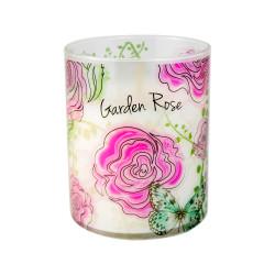 Vonná svíčka, Bloom, Růžová zahrada, 453g