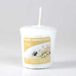Votivní svíčka, White Linen and Lace, 49g