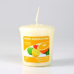 Votivní svíčka, Fresh Citrus, 49g