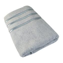Osuška Montána, bavlna, froté, 550g, světle šedá, 70x140cm