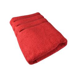 Ručník Montána, bavlna, froté, 550g, červená, 50x100cm