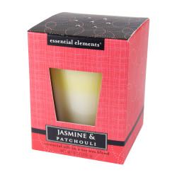 Vonná sojová svíčka, Jasmín a patchouli, 255g