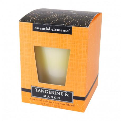 Vonná sojová svíčka, Mandarinka a mango, 255g
