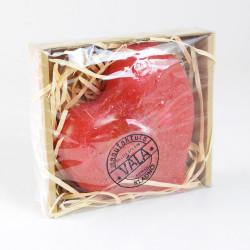 Vonná svíčka, Srdce, červená, 150g