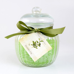 Vonná svíčka, Zelený čaj, karafa, 500g