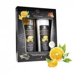 Luxusní dárková sada kosmetiky, Pomerančový květ s mandarinkou