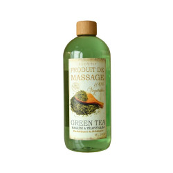 BODY TIP Masážní a tělový olej Zelený čaj, 500ml