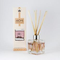 Osvěžovač vzduchu, Difuzér, Santalové dřevo a růže, béžová, 100ml