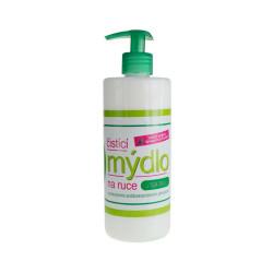 Čistící mýdlo na ruce s přírodními antibakteriálními přísadami a TEA TREE, 500ml