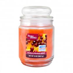 Vonná svíčka, Brusinkovo mandarinkove osvěžení, 368g