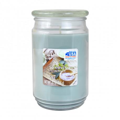 Vonná svíčka, Uklidňující lázeň, 566g