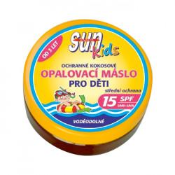 SUN Coconut oil opalovací máslo pro děti, SPF 15, 200ml