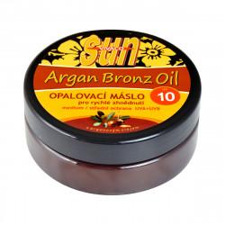 SUN Opalovací máslo s arganovým olejem, SPF 10, 200ml
