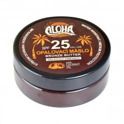 ALOHA Opalovací máslo s kokosovým olejem, SPF 25, 200ml