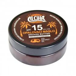 ALOHA Opalovací máslo s kokosovým olejem, SPF 15, 200ml