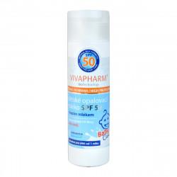 VIVAPHARM dětské opalovací mléko, SPF 50, 200ml