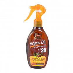 SUN Opalovací olej s arganovým olejem, SPF 20, 200ml