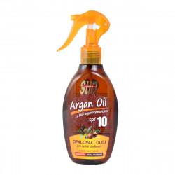 SUN Opalovací olej s arganovým olejem, SPF 10, 200ml