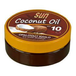 SUN Coconut oil opalovací máslo, SPF 10, 200ml