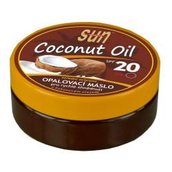 SUN Coconut oil opalovací máslo, SPF 20, 200ml