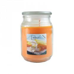 Vonná svíčka, Pomerančová zmrzlina