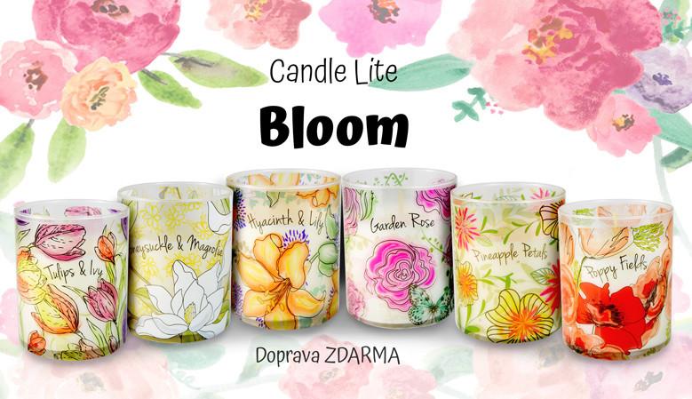 Květinové svíčky - Candle Lite