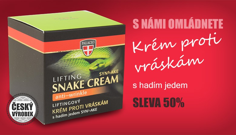 Hadí jed pleťový krém liftingový, 50ml