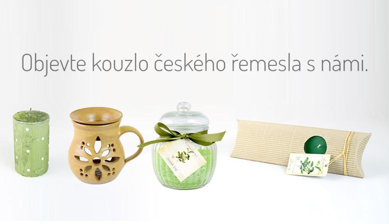 Objevte kouzlo českého řemesla s námi.
