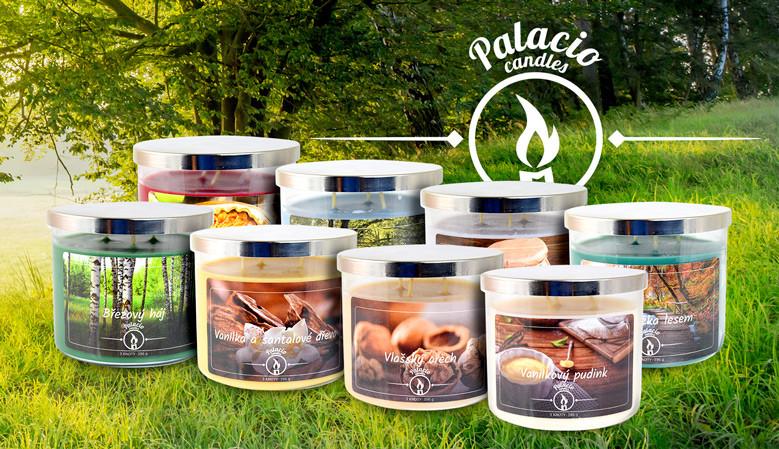 Palacio candles - nová edice našich svíček